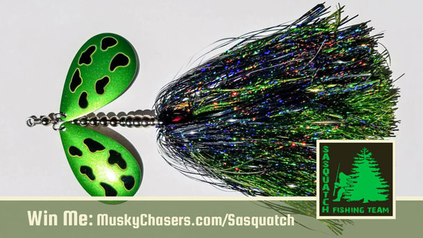 MuskyChasers and Sasquatch Lure Giveaway