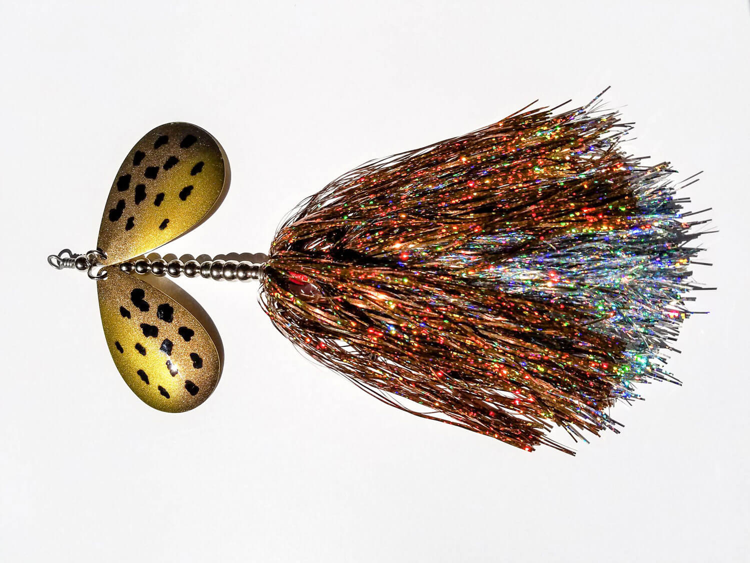 Sasquatch Lure Company - Double Tinsel - Double 10 - Copper, Silver