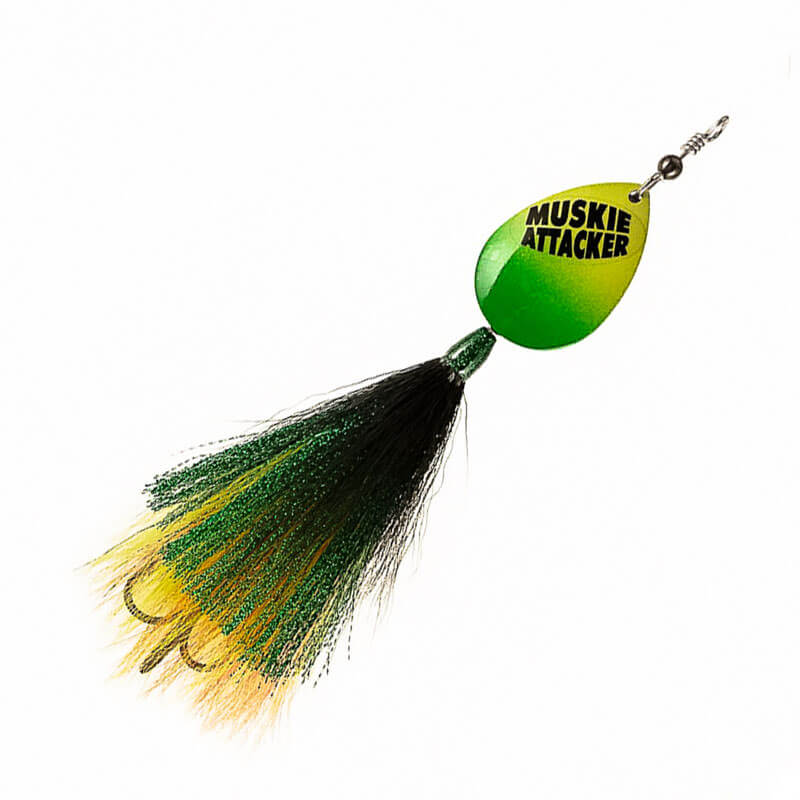 Muskie Attacker Cable Bait - Classic Color - MuskyChasers