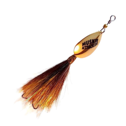 Muskie Attacker Cable Bait - Nuke Walleye color - MuskyChasers
