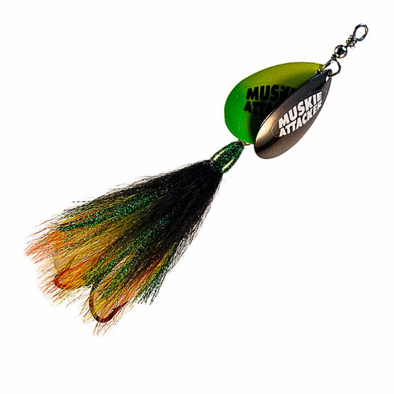 Muskie Attacker Double 7 Bait - Classic Color - MuskyChasers