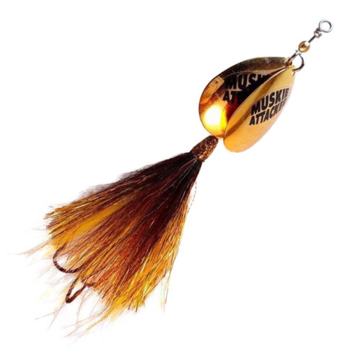 Muskie Attacker Double 7 Bait - Nuke Walleye color - MuskyChasers