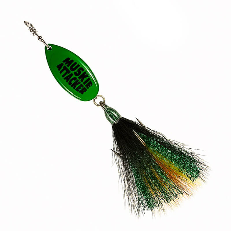 Muskie Attacker Frenchie Bait - Classic Color - MuskyChasers