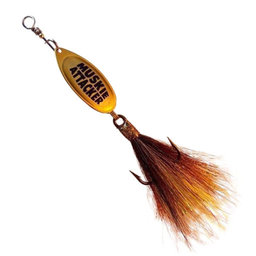 Muskie Attacker Frenchie bait - Nuke Walleye color - MuskyChasers