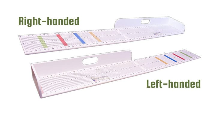 Muskie Bumper - Right-handed vs. Left-handed bumper board_MuskyChasers