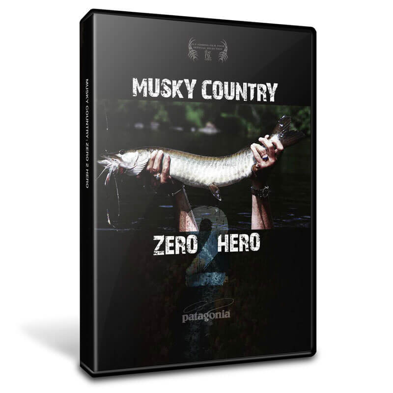 Musky Country: Zero 2 Hero (Z2H) DVD (front) - MuskyChasers.com