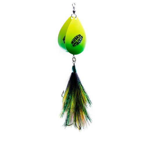 Muskie Attacker - Big Chuck bait - Classic color - MuskyChasers