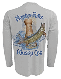 Nestor Falls Musky Cup Long-Sleeved Shirt - Buy Now - MuskyChasers